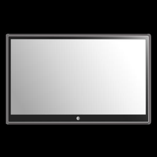 Flat tv illustration Transparent PNG