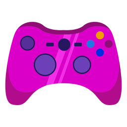 Gamer controller flat