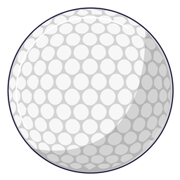 Golfballillustration