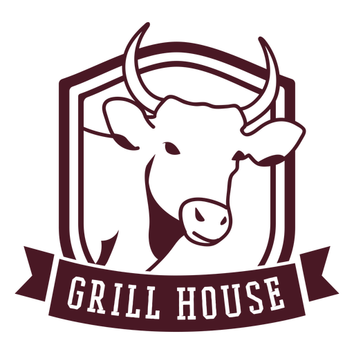 Grill house badge