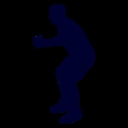 Guy Handballspieler Menschen Silhouette