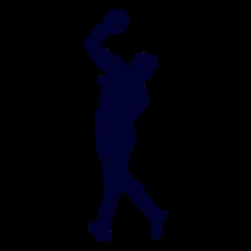 Silueta de balonmano chico