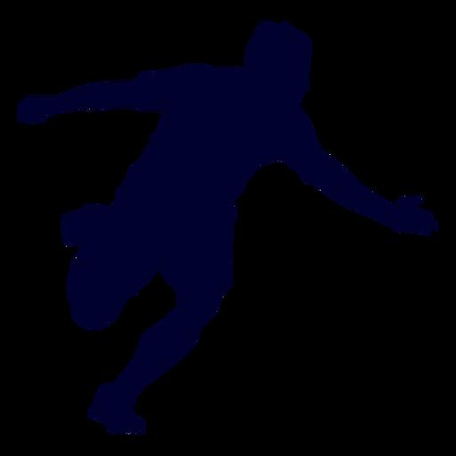 Chico silueta de deporte de balonmano