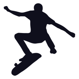 Trucos de Guy silueta de patinaje