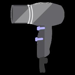 Hair dryer flat