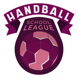 Handball school league badge