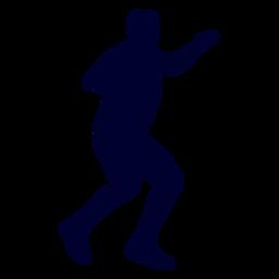 Balonmano deporte jugador personas silueta