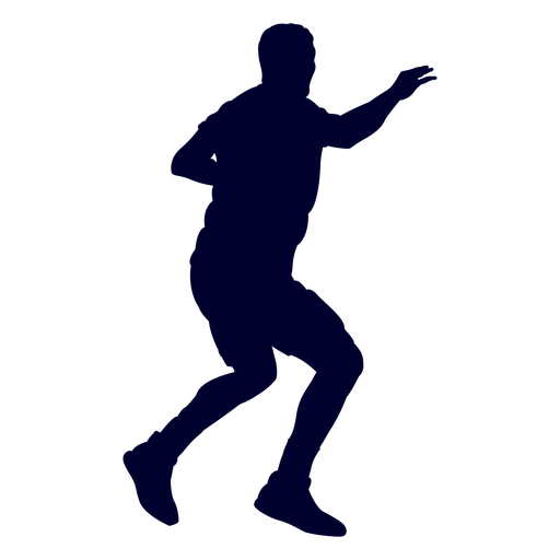 Handball sport player people silhouette Transparent PNG