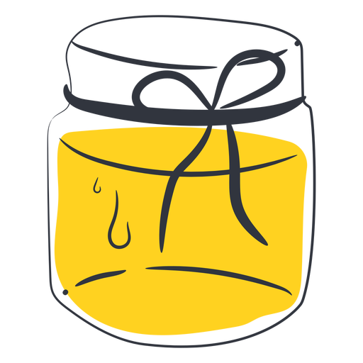 Honey hand drawn Transparent PNG
