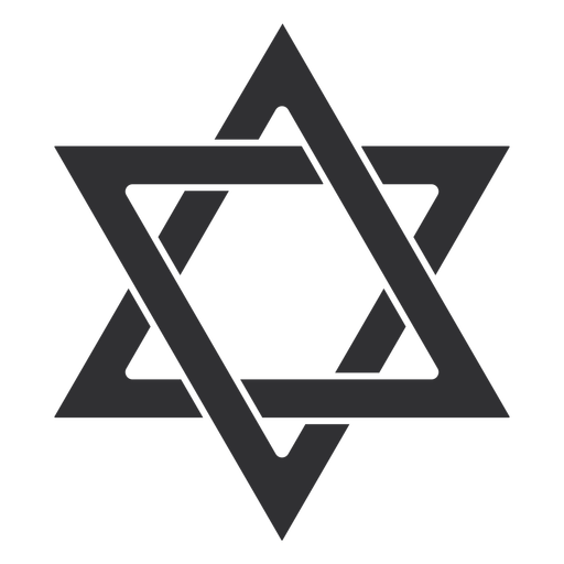 Estrella judía de david golpe