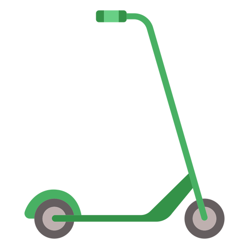Kick scooter vehicle flat Transparent PNG