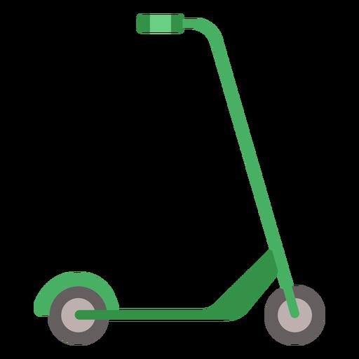 Kick scooter vehicle flat