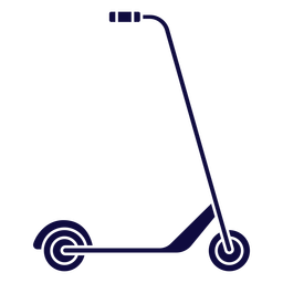 Kick scooter blue
