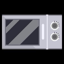 Cocina microondas plana