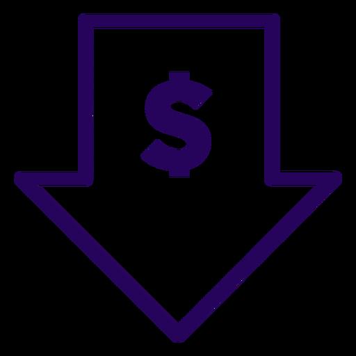 Low price stroke icon