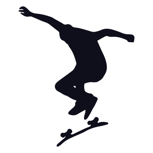 Patinador masculino silueta patinador
