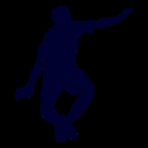 Man playing handball silhouette Transparent PNG