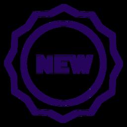 New stroke icon