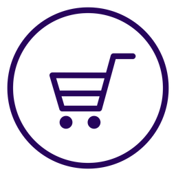 Online shopping stroke icon online shopping