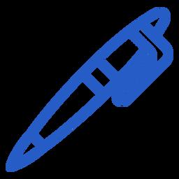 Icono de trazo de lápiz