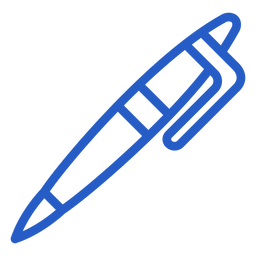 Pen stroke icon