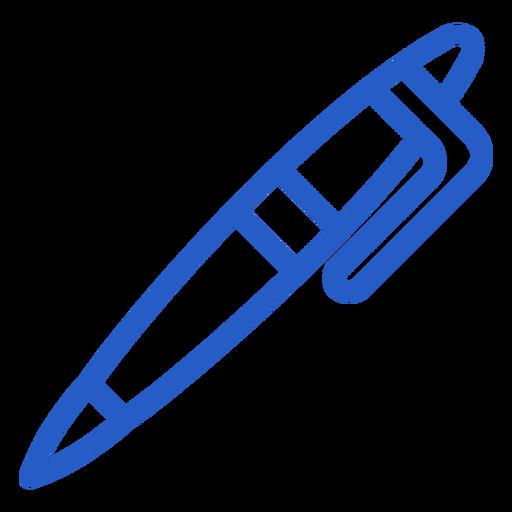 Pen stroke icon Transparent PNG