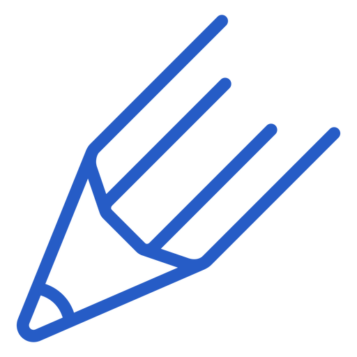Pencil head stroke icon