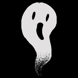 Fantasma aterrador con textura