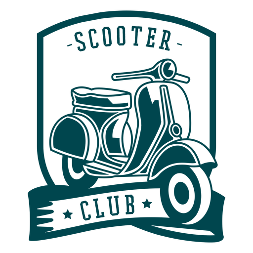 Scooter club badge Transparent PNG