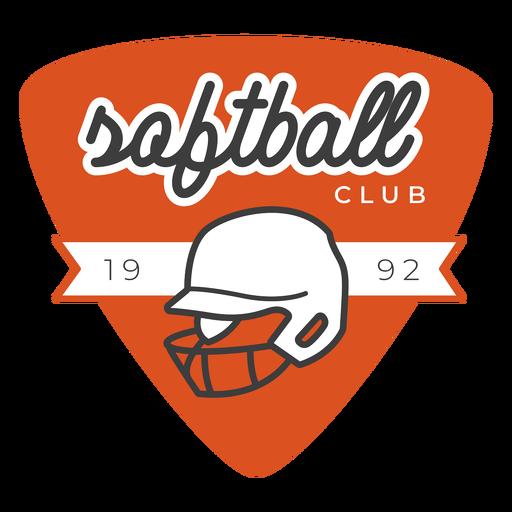 Insignia del club de softbol
