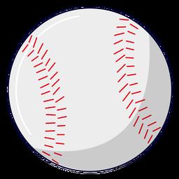 Ilustración de béisbol deportivo