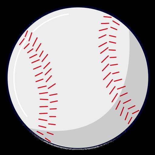 Ilustração de beisebol esportivo