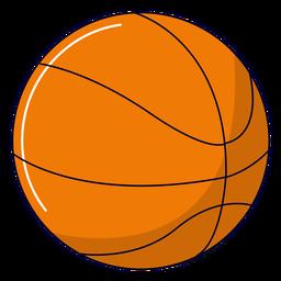 Ilustración de baloncesto deportivo