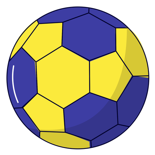 Ilustración de balonmano deportivo