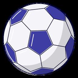 Ilustração de bola de futebol esportiva