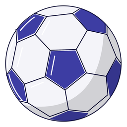 Ilustración de balón de fútbol deportivo