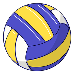Sport volleyball illustration