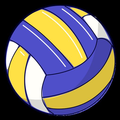 Ilustração de vôlei esportivo