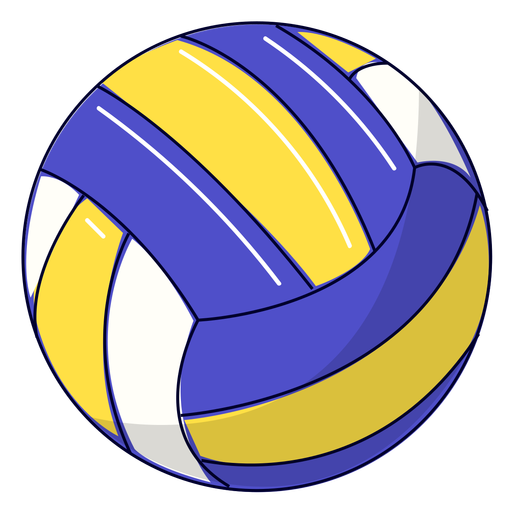 Sport volleyball illustration Transparent PNG