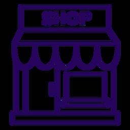 Store stroke icon