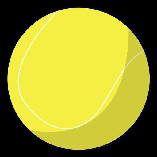 Ilustración de pelota de tenis