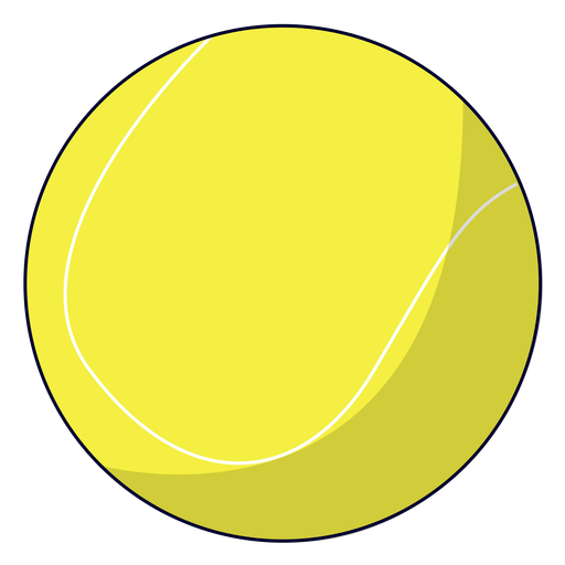 Tennis ball illustration