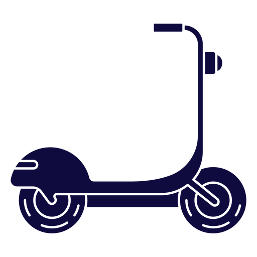 Veh?culo scooter azul