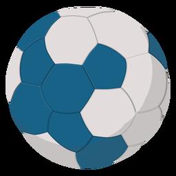 Ilustración de balonmano blanco