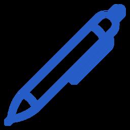 Escritura pluma trazo icono pluma