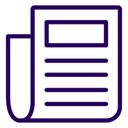 Document Stroke Icon Transparent Png Svg Vector File