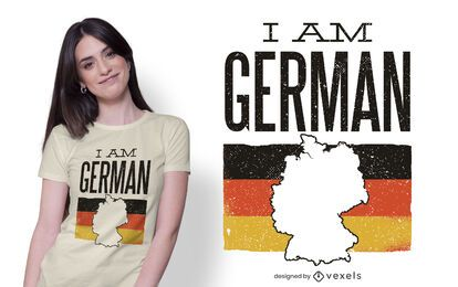 I am german t-shirt design