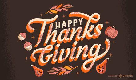 Projeto de letras feliz dia de graças