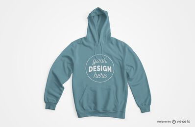 Hoodie Front Mockup Design