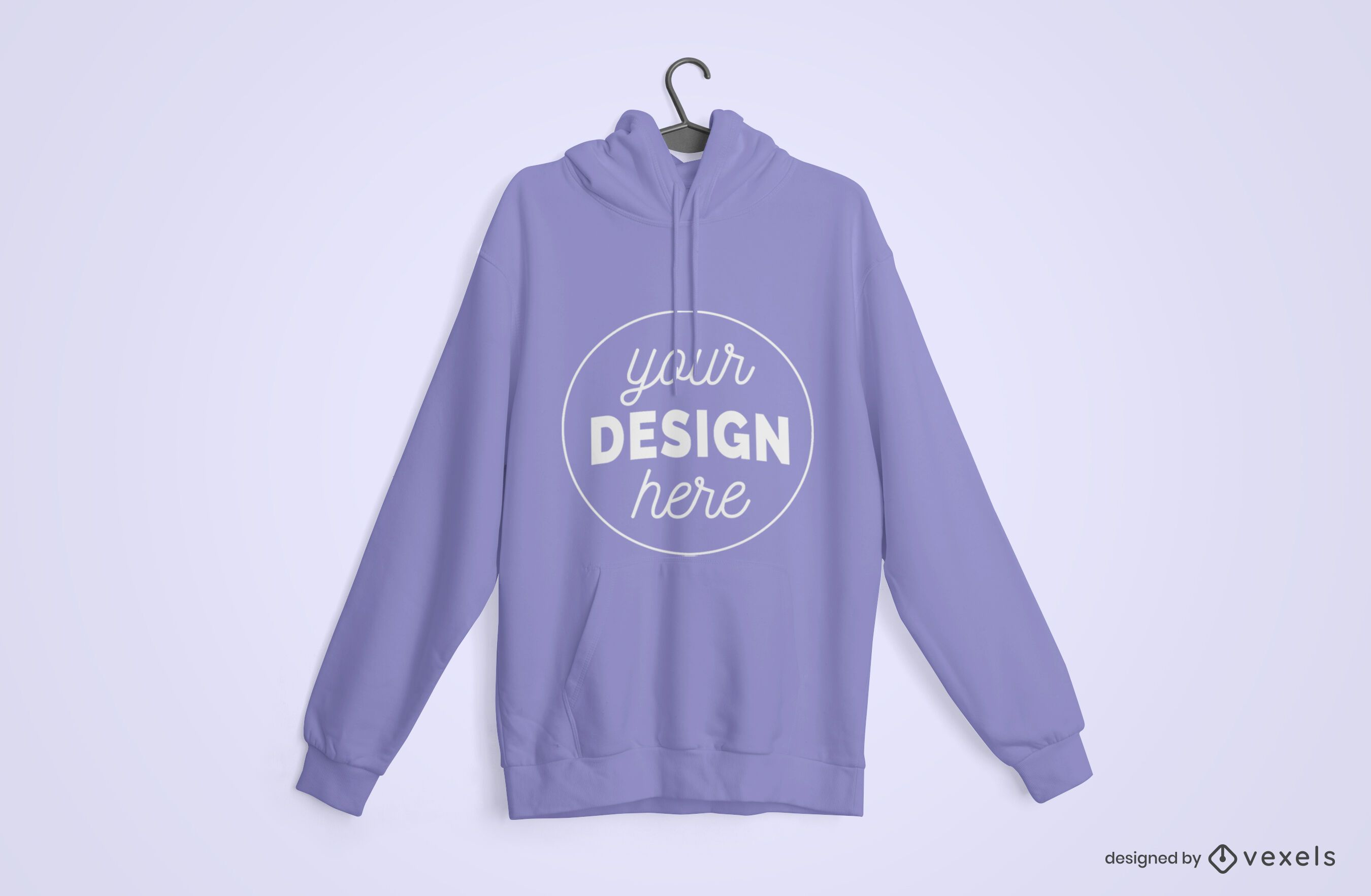 Hanger Hoodie Mockup Design